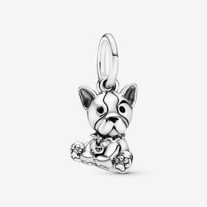 Pandora Bulldog Puppy Dog Dangle Charm